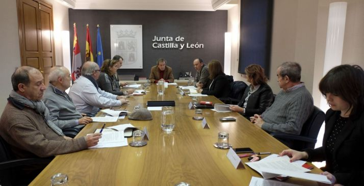 Una imagen de la reunión este viernes. /Jta.