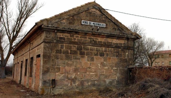 La antigua estación de Miño.