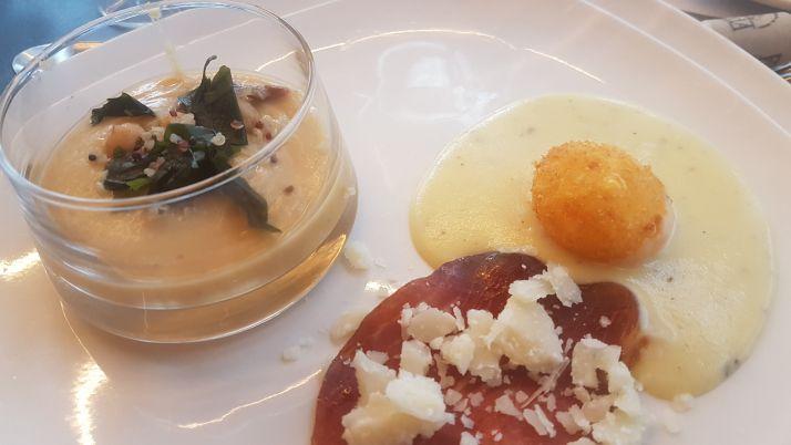 La Barrosa: 13 años innovando un menú de trufa