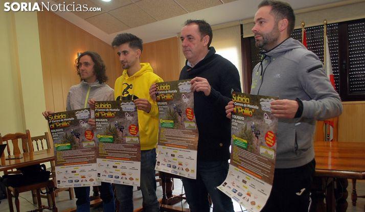 Tejedor, (izda.), Martínez, Serrano y Aguilera./SN