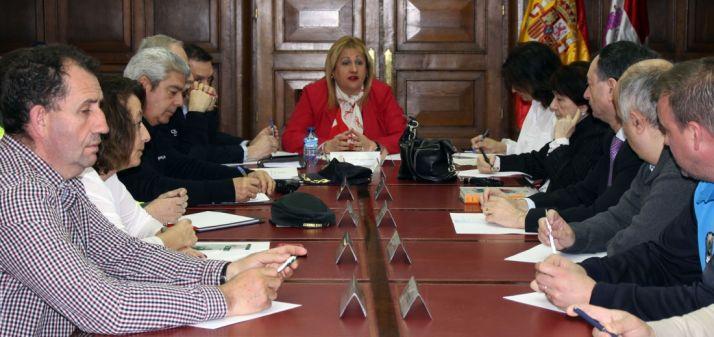 Imagen de la Comisión Provincial de Seguridad. /Subdeleg.