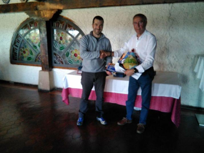 David Ramos, mejor socio clasificado del Campano Soriano.