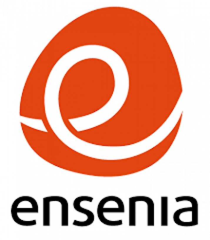 Logo del centro de formación Ensenia. Ensenia.