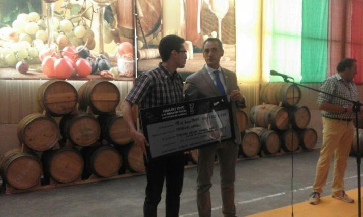Feria de San Esteban. Premio al mejor vino. /Sorianoticias