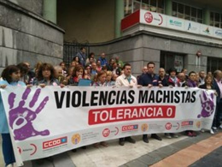 Contra la violencia de género. Europa Press.