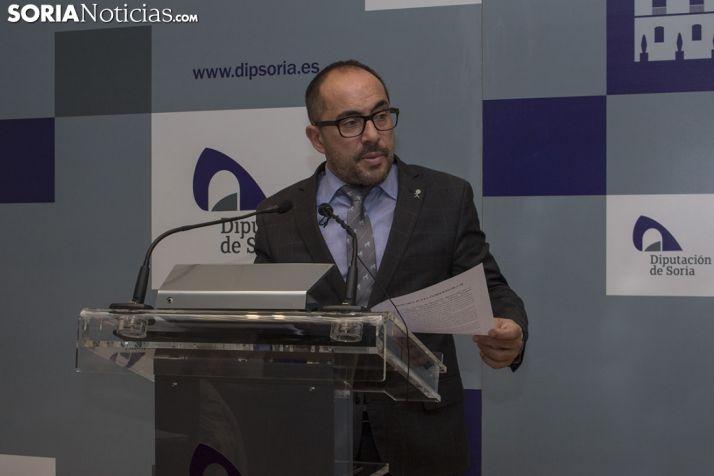 Luis Rey, presidente de la Diputación Provincial. Freddy Páez.