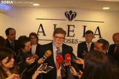 Imágenes de la visita a Aleia Roses. Freddy Páez