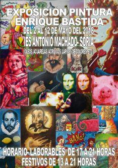 Cartel de la exposición de Enrique Bastida.