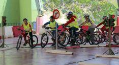 Un grupo de escolares durante una de las actividades. /S. de G.