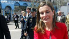 Doña Letizia en su visita a El Hueco en marzo del año pasado. /SN