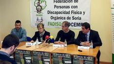 Andrés, Berrojo, Antón y Rebanal en la presentación este jueves.