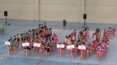 8 colegios de la capital participan en los juegos escolares de gimnasia rítmica