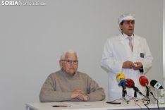 Presentación del nuevo queso freso de cabra y vaca en las instalaciones de Cañada Real de Soria.