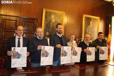 Presentación del Campeonato de España de equipos y relevos (duatlón).