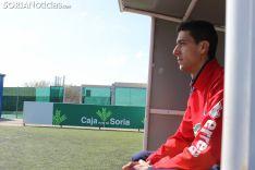 Pablo Ayuso, entrenador del DH del Numancia.