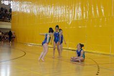 Campeonato de gimnasia rítmica en Soria.