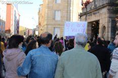 Manifestación contra la sentencia hacia La Manada, en Soria.