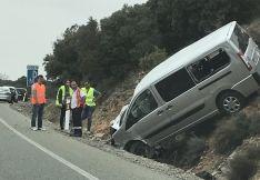 AVANCE. Accidente sin heridos en el Madero