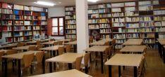 Una imagen de la biblioteca del centro