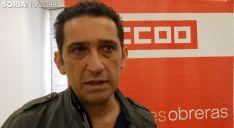 Vicente Andrés, este miércoles en la capital soriana. /SN