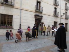 Foto 6 - El Virrey Palafox ha celebrado el tradicional encierro de cochinas para los más pequeños