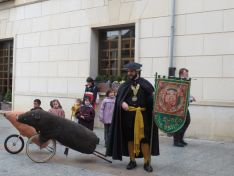 Foto 5 - El Virrey Palafox ha celebrado el tradicional encierro de cochinas para los más pequeños