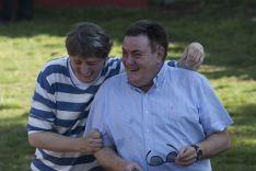 Carlos Martínez y José Luis Ruiz responsables de festejos en el Ayuntamiento de Soria