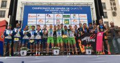 Campeones de la categoría élite.