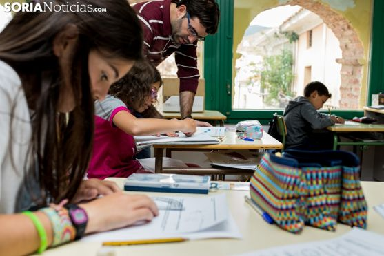 Imagen de un centro educativo de Soria.