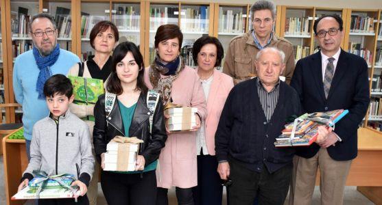 Premiados en los distintos concuros organizados por la Junta en Soria. /Jta.