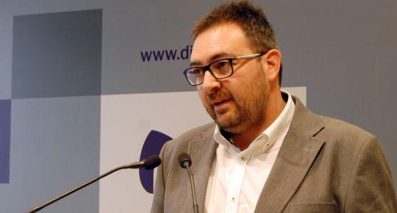 Pedro Casas, vicepresidente segundo de la Diputación.