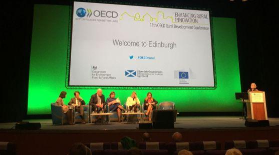 Intervención de miembros de la SSPA en la capital escocesa.