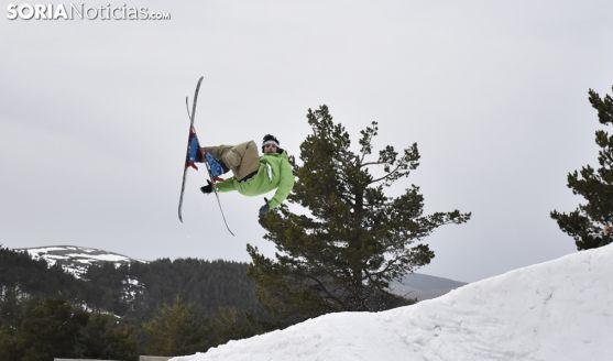 Campeonato de saltos de Santa Inés.