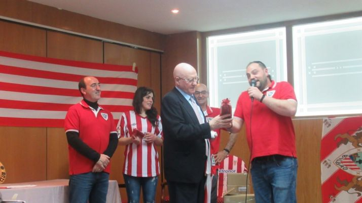 Imágenes de la inauguración de la Peña Castellana del Athletic Club de Bilbao./ A.G.