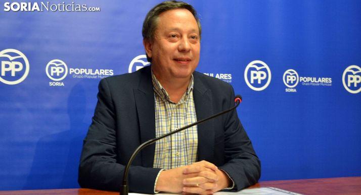 Adolfo Sainz, concejal del PP en el Ayuntamiento de la ciudad./SN