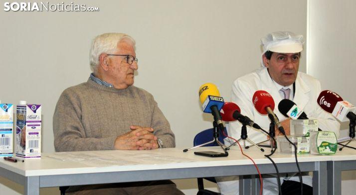 Jesús Ciria (dcha.) y Juan Manuel Ruiz Liso. /SN