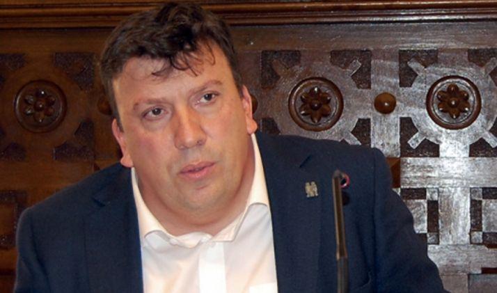 Jesús Cedazo, presidente de la Comisión de Desarrollo Económico y Turismo