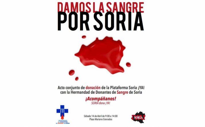 Foto 1 - La Soria Ya anima a donar sangre este sábado