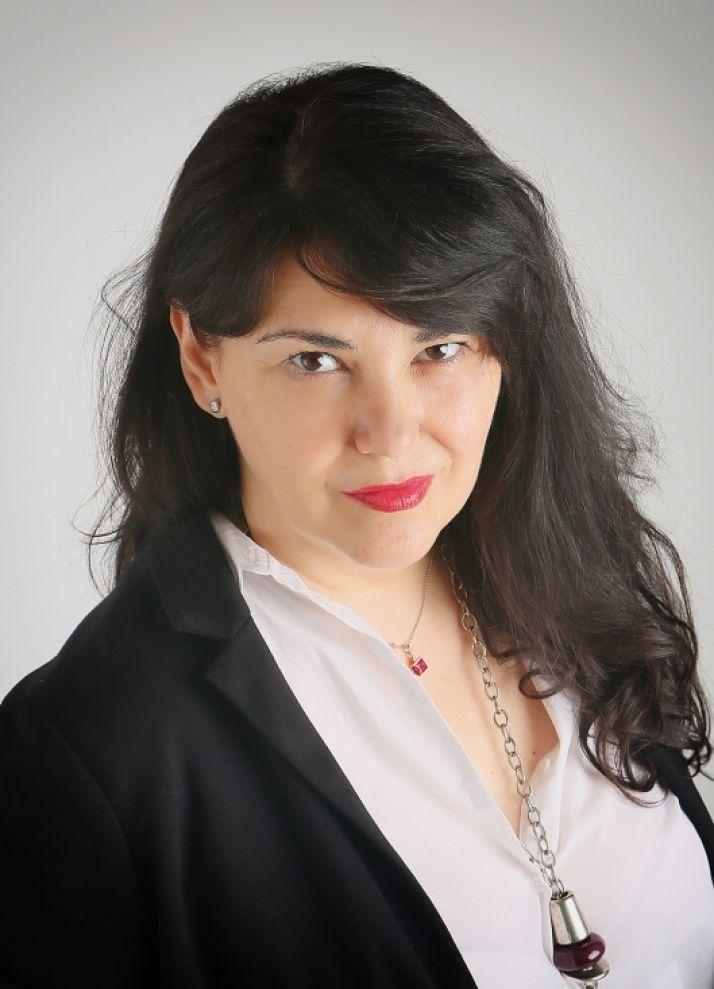 La escritora Marina Izquierdo.
