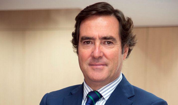 El empresario Antonio Garamendi.