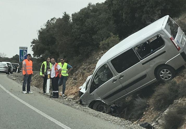 Foto 2 - AVANCE. Accidente sin heridos en el Madero