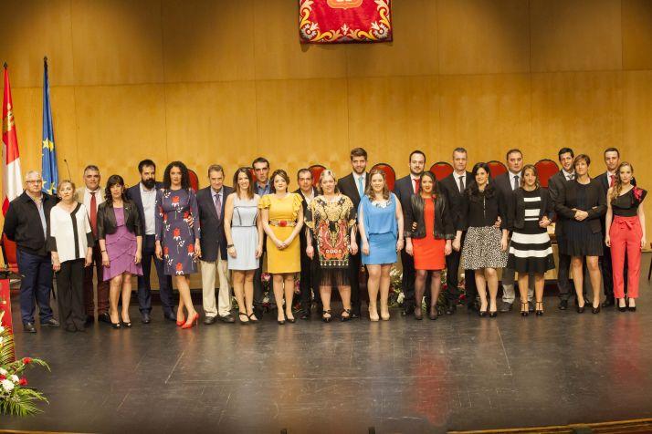 Las fotos oficiales de los jurados en el Palacio de la Audiencia