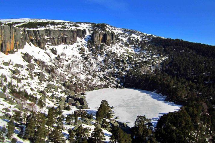 Imagen de la Laguna Negra, en la sierra de Urbión, un escenario protagonista de 'La Tierra de Alvargonzález' de Machado.