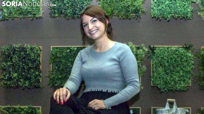 Mara Row, cantante soriana. /SN