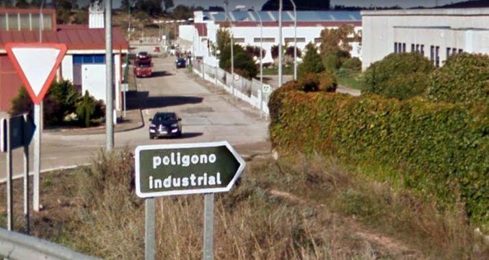 Entrada al polígono industrial La Dehesa. /GM