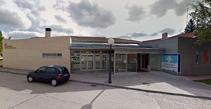 El centro de salud sanestebeño.