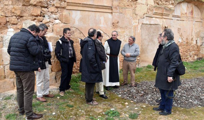 Foto 1 - Arrancan las obras para la protección y puesta en valor del edificio principal del Monasterio de Santa María de Huerta