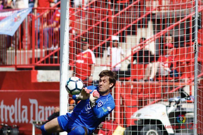 (Nástic 0 – Numancia 0) Aitor salva un punto para un Numancia sin fútbol