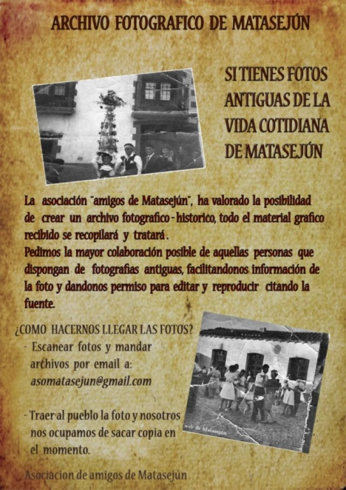Foto 1 - La Asociación de Amigos de Matasejún quiere crear un archivo fotográfico-histórico de la localidad