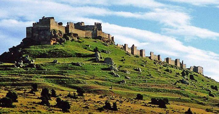 La fortificación de Gormaz.